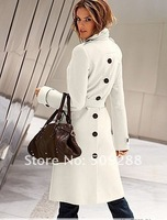 Женская куртка Sell like hot cakes! Women's Before and after the open cut Winter Long Coat Clothes Outerwear transport