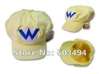 высокое качество супер Марио bros Аниме косплей Марио Красная шапочка тег супер marop хлопка шляпа Супер Марио шляпы Луиджи шляпу 5 цветов