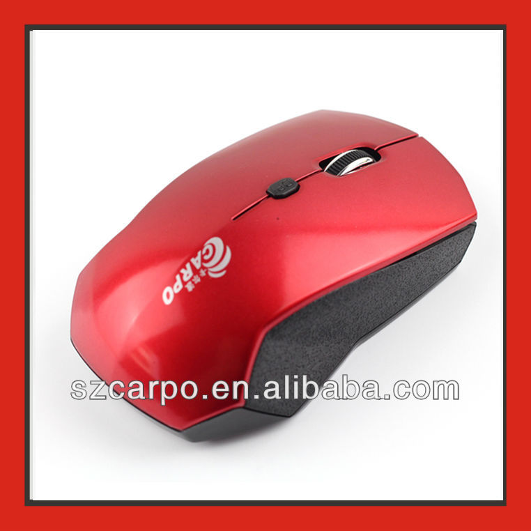 2012 Latest 2.4Ghz cheap laser mouse V7