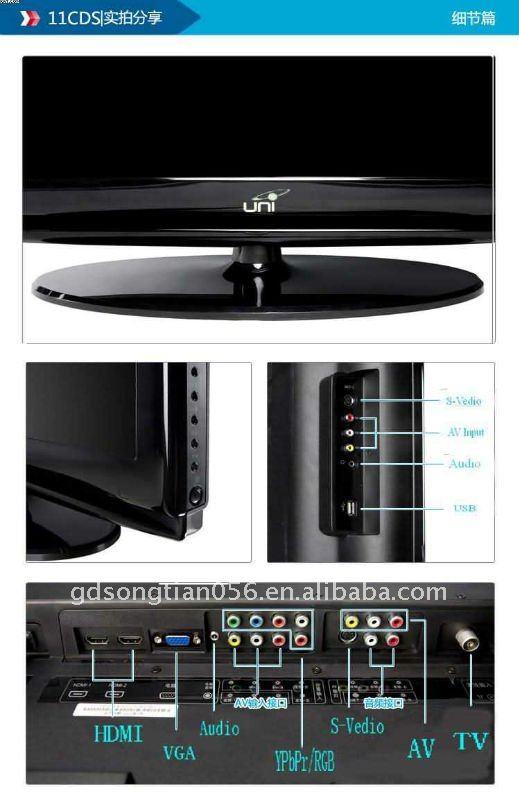 Full HDTV 3D LED TV 55'' 1080p HDMI ST-LED-E66-1