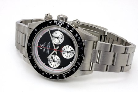mechanical chronograph watch