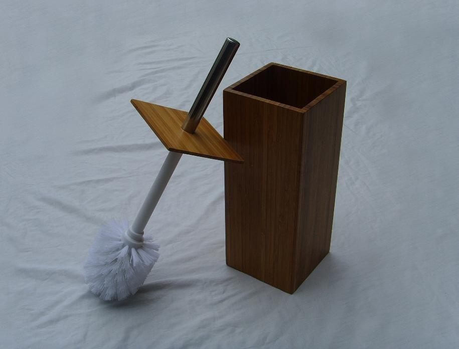 bamboo toilet brush holder with holder buy toilet brush holder toilet brush with holder toilet. Black Bedroom Furniture Sets. Home Design Ideas
