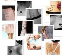 20 шт много! так fsahion временные татуировки татуировки наклейки для боди-арт, роспись водонепроницаемый смешивать конструкции секс Кот