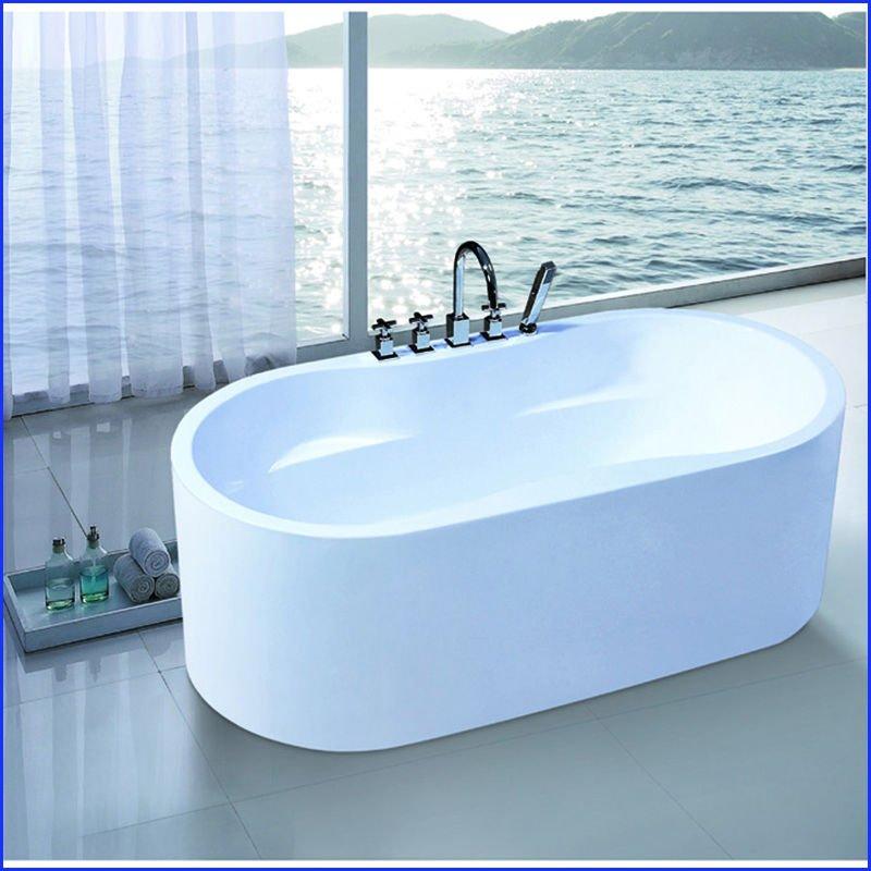 1300 mm acrylique baignoire simple petite baignoire sur - Petite baignoire sur pied ...