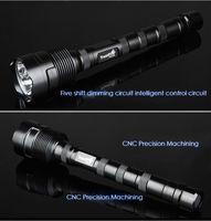 Светодиодный фонарик TrustFire 3x CREE XM-L T6 LED Lampe Torche 3800Lm SET+2*18650+Charger+Gift