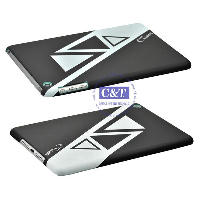 C&T PC hard triangle pattern for smart case ipad mini