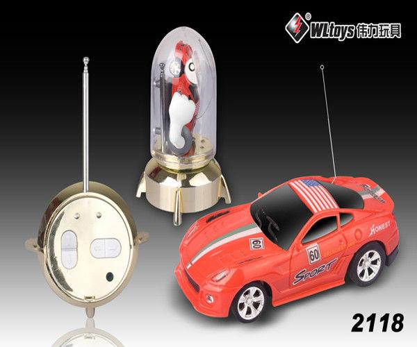 1:63 Mini 7CM Electric Radio Control rc car 8 colors 4 styles