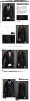kingtime Мужское пальто случайные хлопка пыли случайные Мужская куртка ветровка размер: m-xxl ktg23