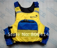life jacket, PFD for kayak, paddling, sailing, fishing, red color, free size