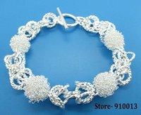 Free Shipping Silver Plated Jewelry Bracelet # Store-910013 ebxa mtfa vkna GY3-PB279