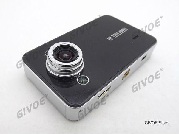 Factory Low Price K6000 Carcam HD Car DVR With G-Sensor