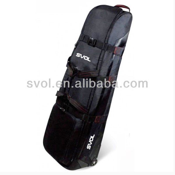 Wheel golf travel cover / Golf shaft cover