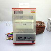 Зарядное устройство Mini power bank for apple iphone 4 4 S 3 GS iPod Touch, iPad external 2800 MAH battery charging treasure spare mobile power