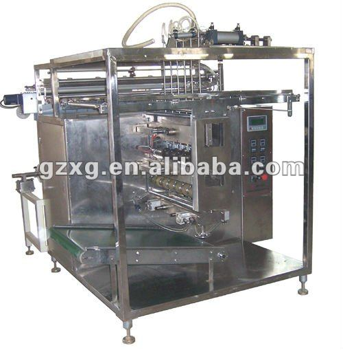 DXD-Y8 multi-lane liquid packing machine
