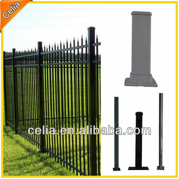 Hot Sale Ornamental Aluminum Fence,Black Aluminum Fence