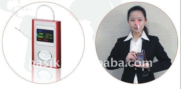 CE Aprovado produto Intranasal Luz Instrumento Tratamento A Laser de Pulso Terapia Sinusite