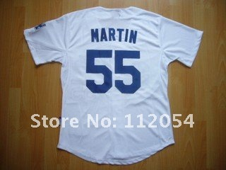 Jerseys For Cheap - Los Angeles Dodgers Russell Martin #55 Cool Base White Jersey_conew1.jpg