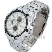 Наручные часы 1PCS Retail Luxury Sports Discount Men Quartz Watch, Fashion Movement Steel Band Men Wrist Watch M917W