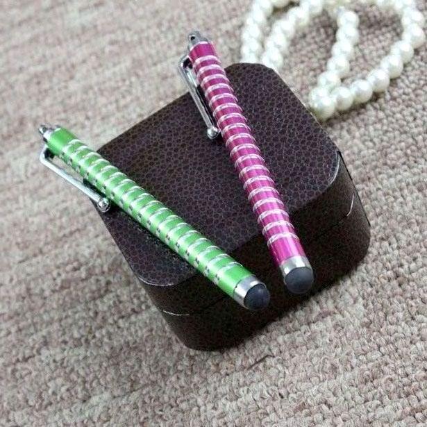 hollow out stylus pen,rubber tip stylus pen