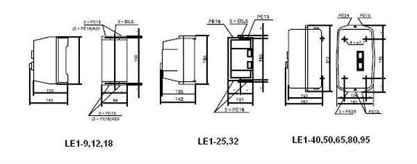 Russian Standard LE1 Magnetic Starter