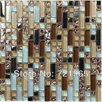 Керамическая мозаика My building shop Crystal glass tile backsplash SSMT262 kitchen mosaic glass wall tiles bathroom glass mosaics tiles