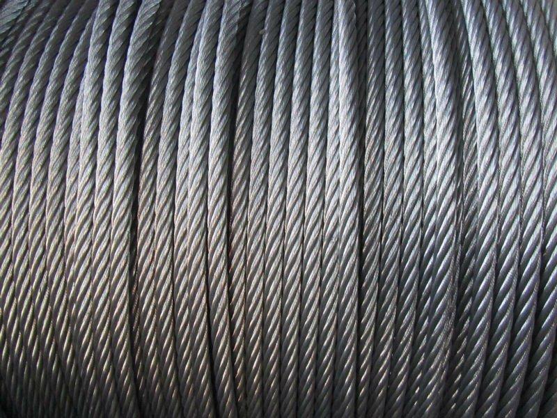 Stainless Steel Wire Rope 7x7,6x36,7x19,7x37 Galvanized Steel Wire ...