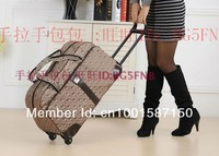 Free shipping 24-inch large trolley case