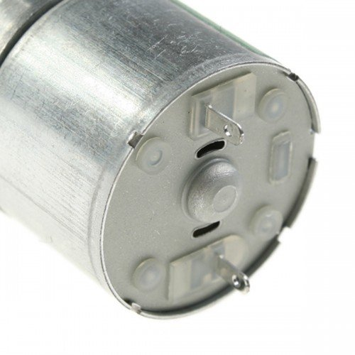 100pcs/lot 25mm DC 6V 20 RPM Torque Gear Box Electric Mini Motor