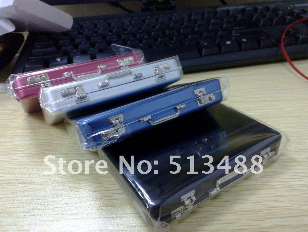 10pcs/lot Free shipping Password Aluminium ID Credit Card Holder Mini ...