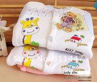 Комплект одежды для девочек 1pcs/lot cottonWinnie the the Paganini giraffe warm cardigan warm sets of thermal underwear for children suits