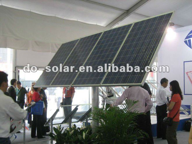 DHL Free Shiping--Best price supply POLY solar module 235 watt for solar panel system