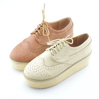 free shipping 2012 new arrival 3 colour Women high platform Shoes,pu high platform shoes for women  A03