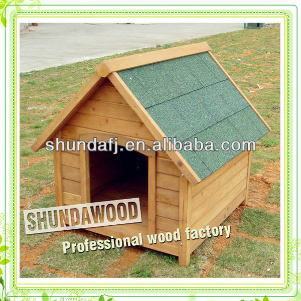 SDD04 Wooden Dog Kennel, Dog Accessories, Wooden Dog House