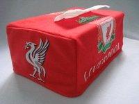 Товары для занятий футболом Chelsea fc towel sets/ bule tissue holder cover 1 pcs