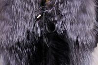 Женская одежда из меха Hot Sale Fashion Luxury Silver Fox Fur Vest Waistcoat