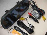 "Система помощи при парковке best quality reversing camera rear view 7"" TFT mirror PSV-358"