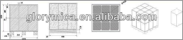 R-5461-P-GS Phlogopite Mica Tape Insulation Material