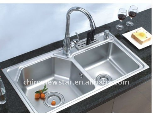 Kitchen Sink With Dish Drainer - Buy Kitchen Sink With Dish