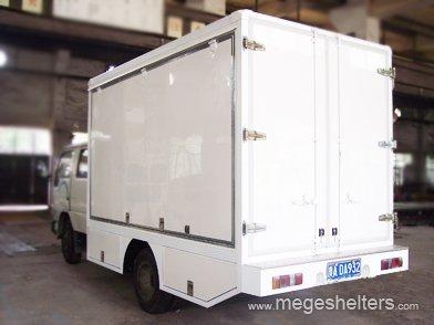Fiberglass Plywood Dry Cargo Van Truck Body
