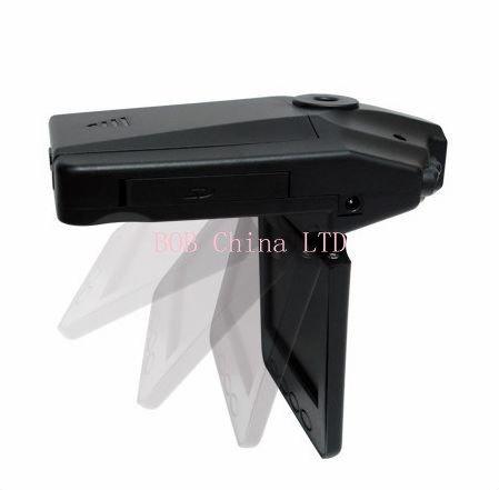 Car DVR 6 IR LED ja 90 asteen kuvakulma näyttö voidaan kääntää 270 astetta Freeshipping H198