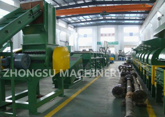used plastic Film washing recycling line