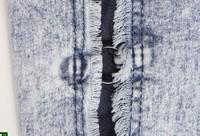 Южная Корея торговый осенние модели были тонкий карандаш брюки джинсы ручной полые отверстия 1493