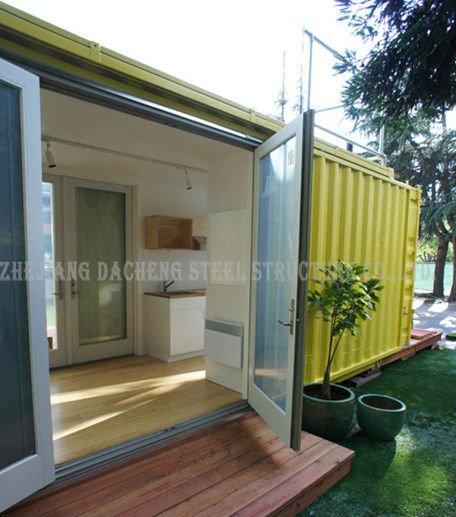 Prefabricated Container House Villa / China Movable Container House