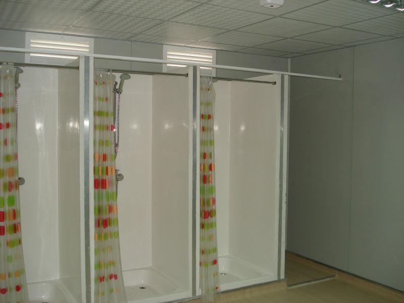 Baño Con Ducha Portatil:casa contenedor portátil para la ducha