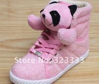 Женские кеды high to help higher Teddy Bear casual shoes