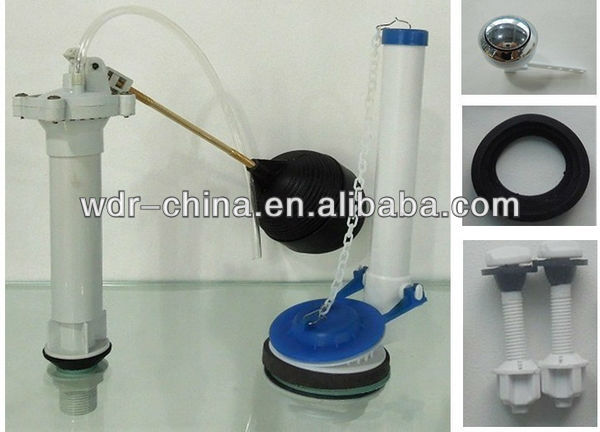 bathroom cisterns rubber flapper use to flush toilet parts