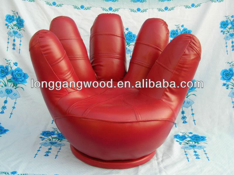 Mini enfants rouge la main en forme de chaise en bois - Sillones de mano ...
