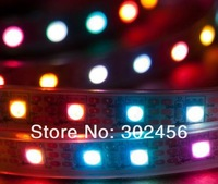 free shipping! wholesale! 5M/lot free shipping DC5V 32led/m dream color strips WS2801 LED strips