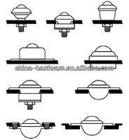 Запчасти для подъемно-транспортного оборудования SP-25, 200KGS Loading capacity, heavy duty ball transfer units