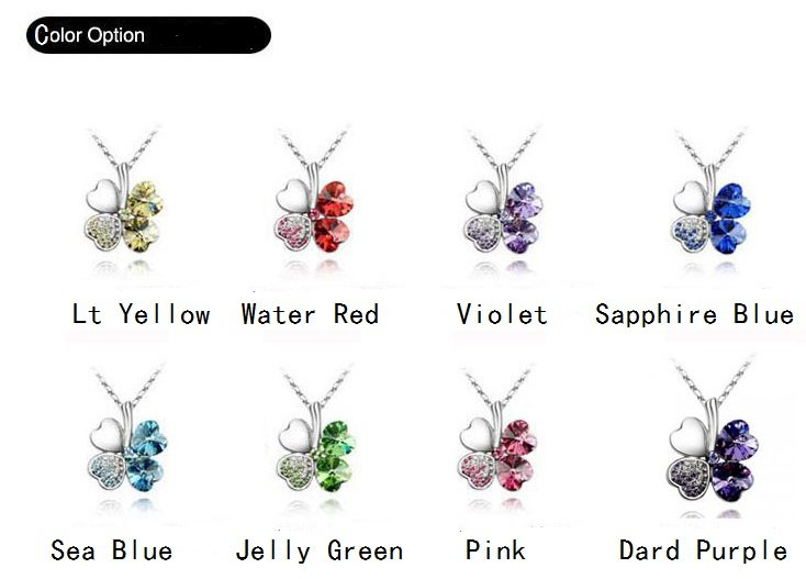 Free shipping~wholesale factory direct fashion necklace, hot sell four leaves shape necklace,12 pcs/dozen